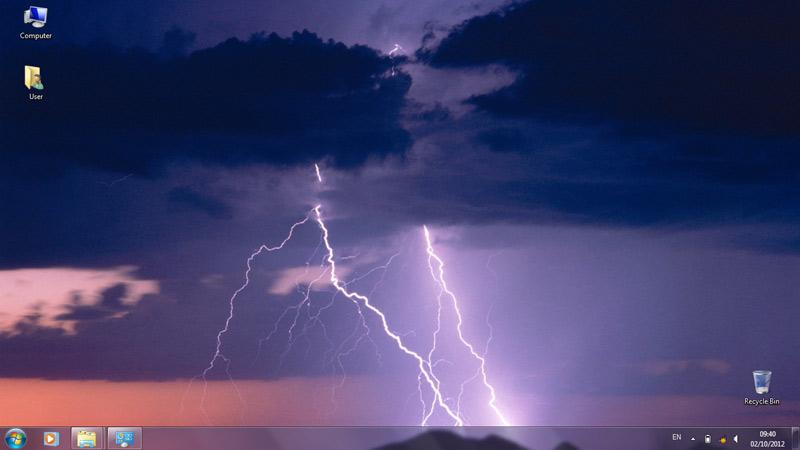 Тема Lightning