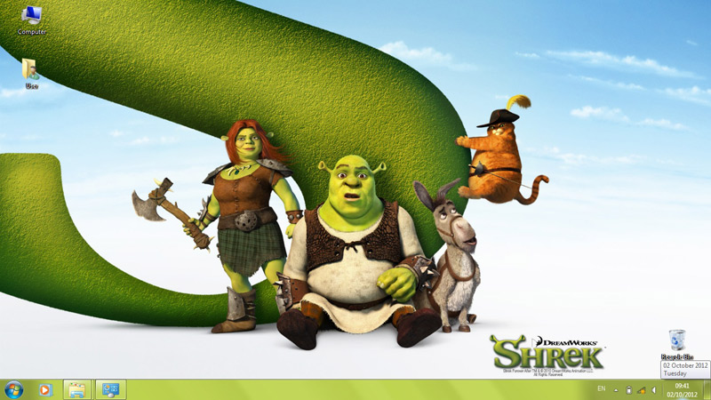 Тема Shrek Forever After