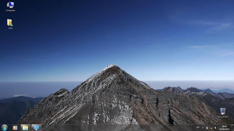 Тема Syue Mountain для Windows 7
