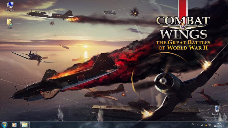 Тема Combat Wings