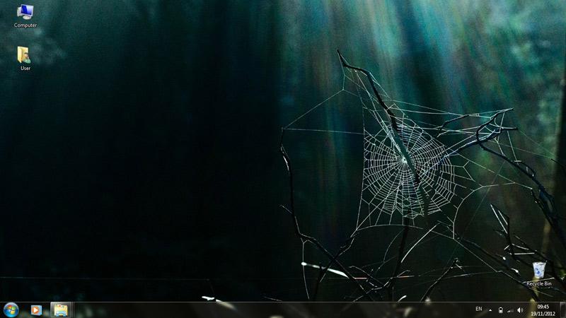 Тема Creepy Cobwebs