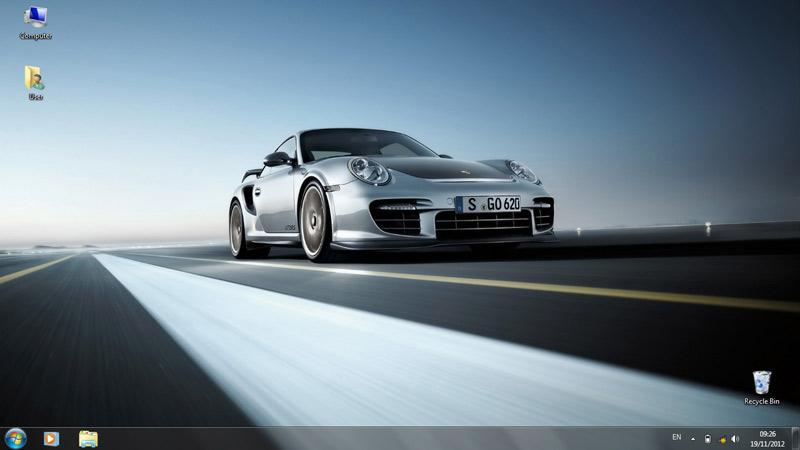 Тема Porsche
