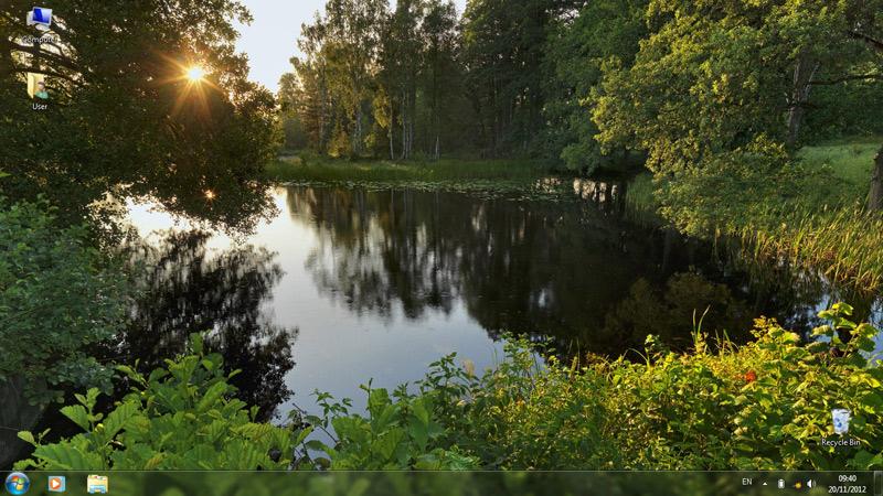 Тема Sweden summer