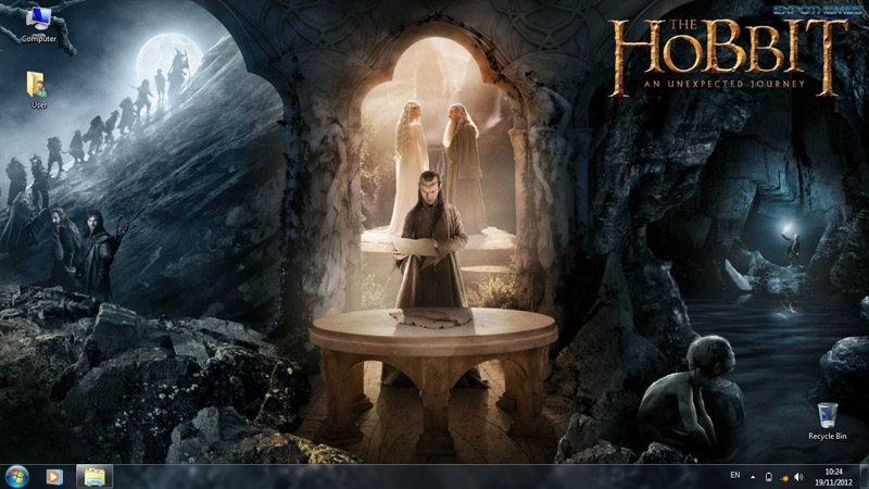 Тема The Hobbit An Unexpected Journey