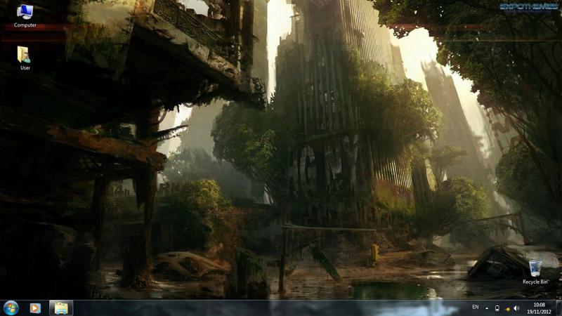 Тема Crysis 3