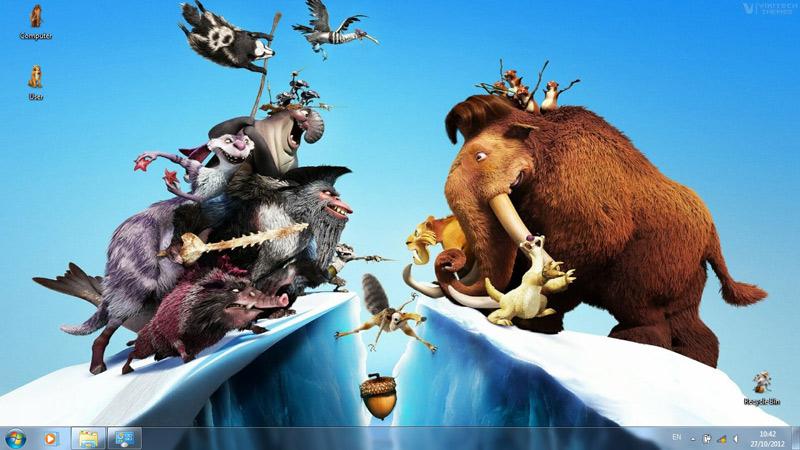 Тема Ice Age