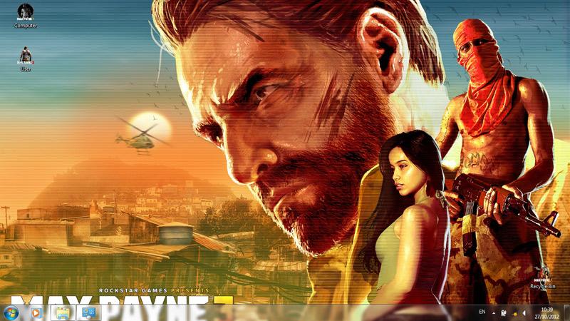 Тема Max Payne