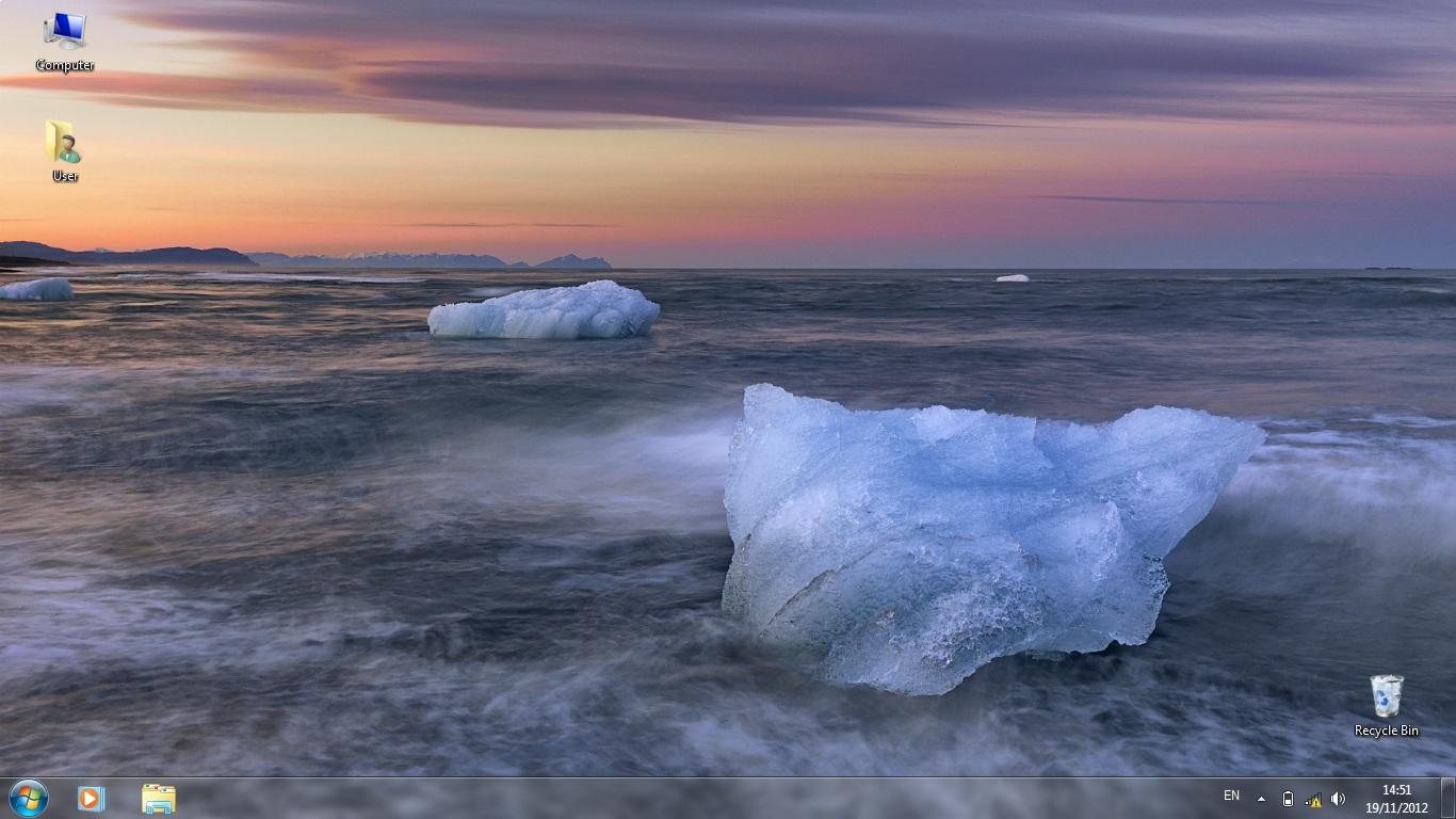 Тема Iceland