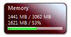 Гаджет Memory Meter