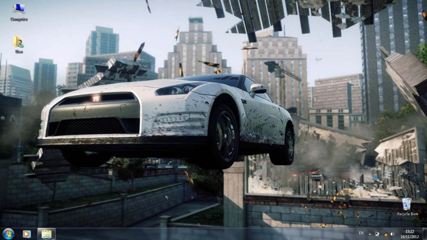 Тема Need for Speed: Most Wanted