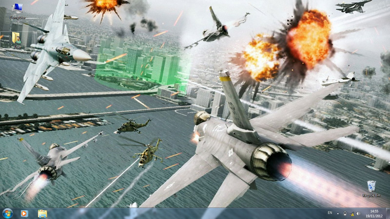 Тема Ace Combat: Assault Horizon