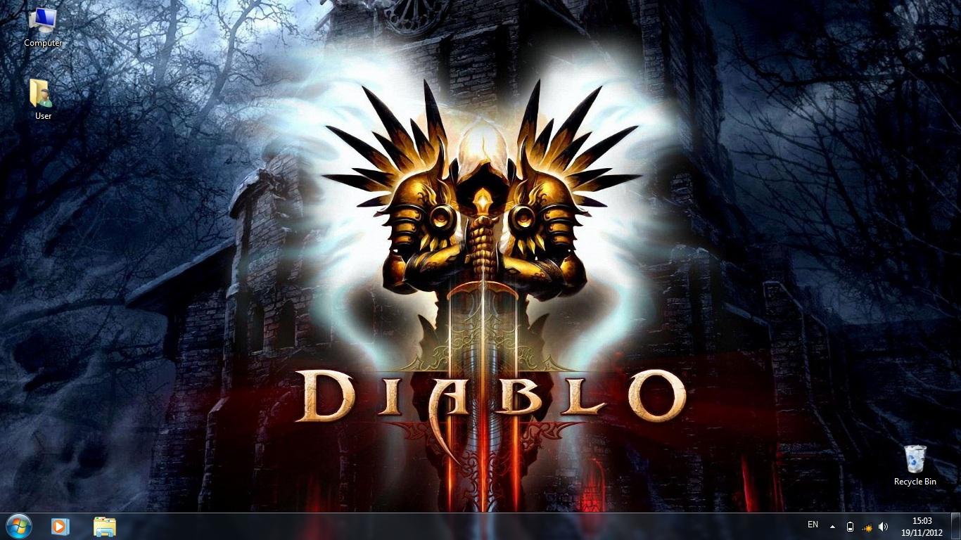 Тема Diablo 3