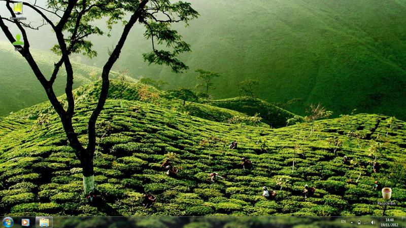 Тема Green Tea
