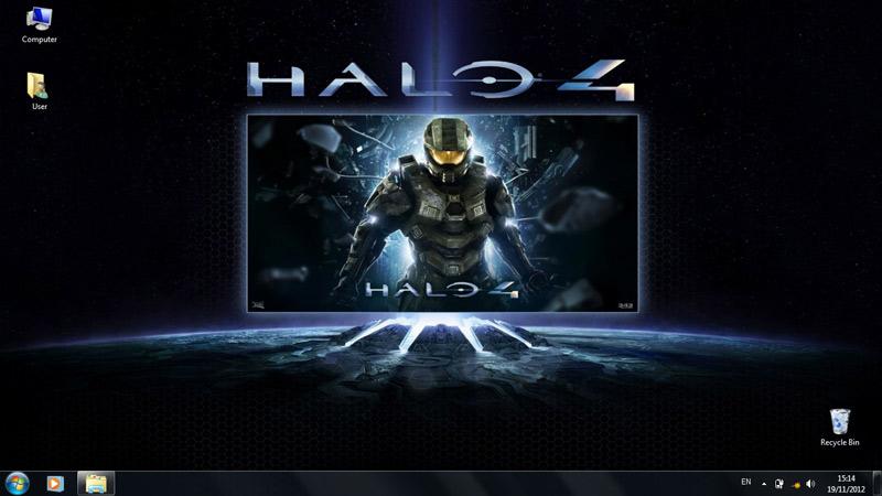 Тема Halo 4