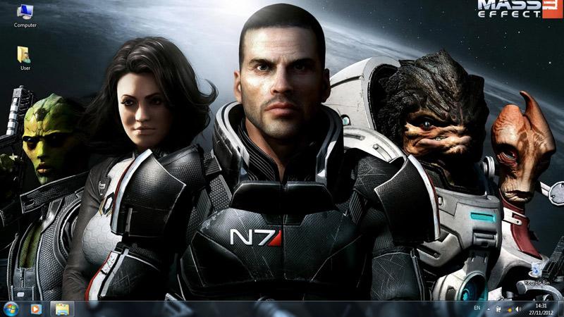 Тема Mass Effect 3