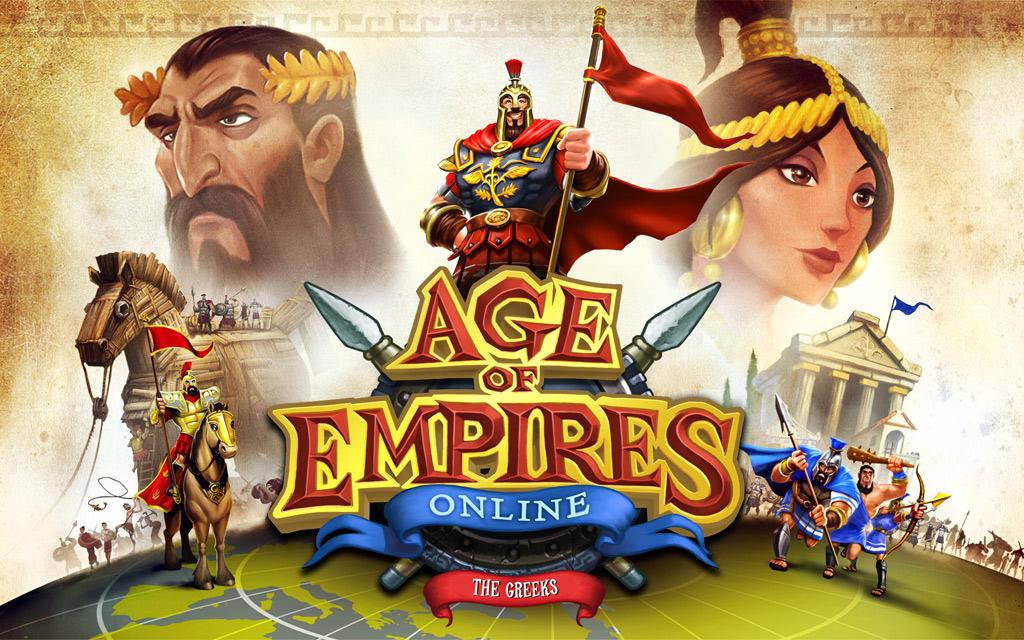 Тема Age of Empires Online