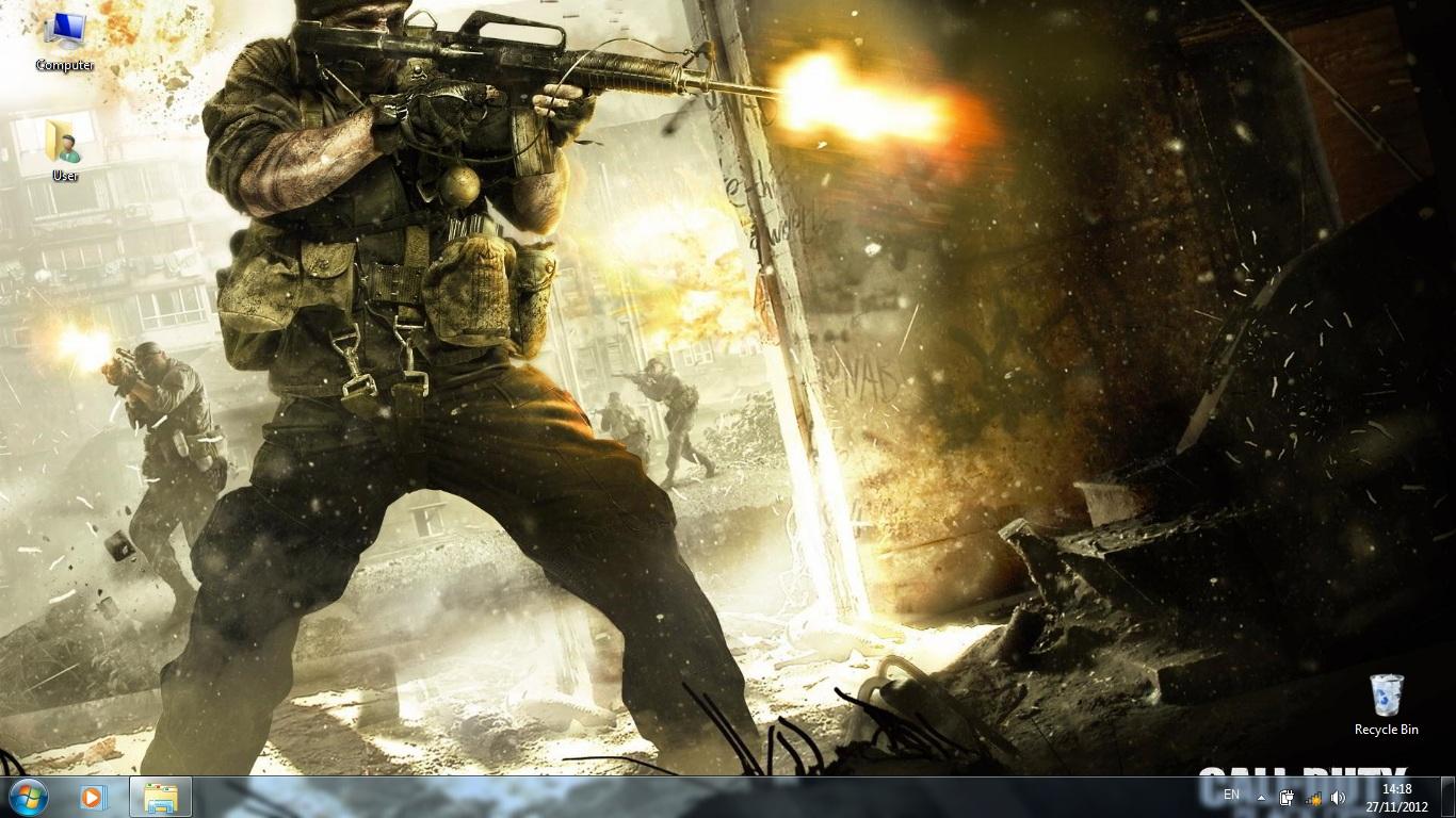 Тема Call of Duty: Black ops