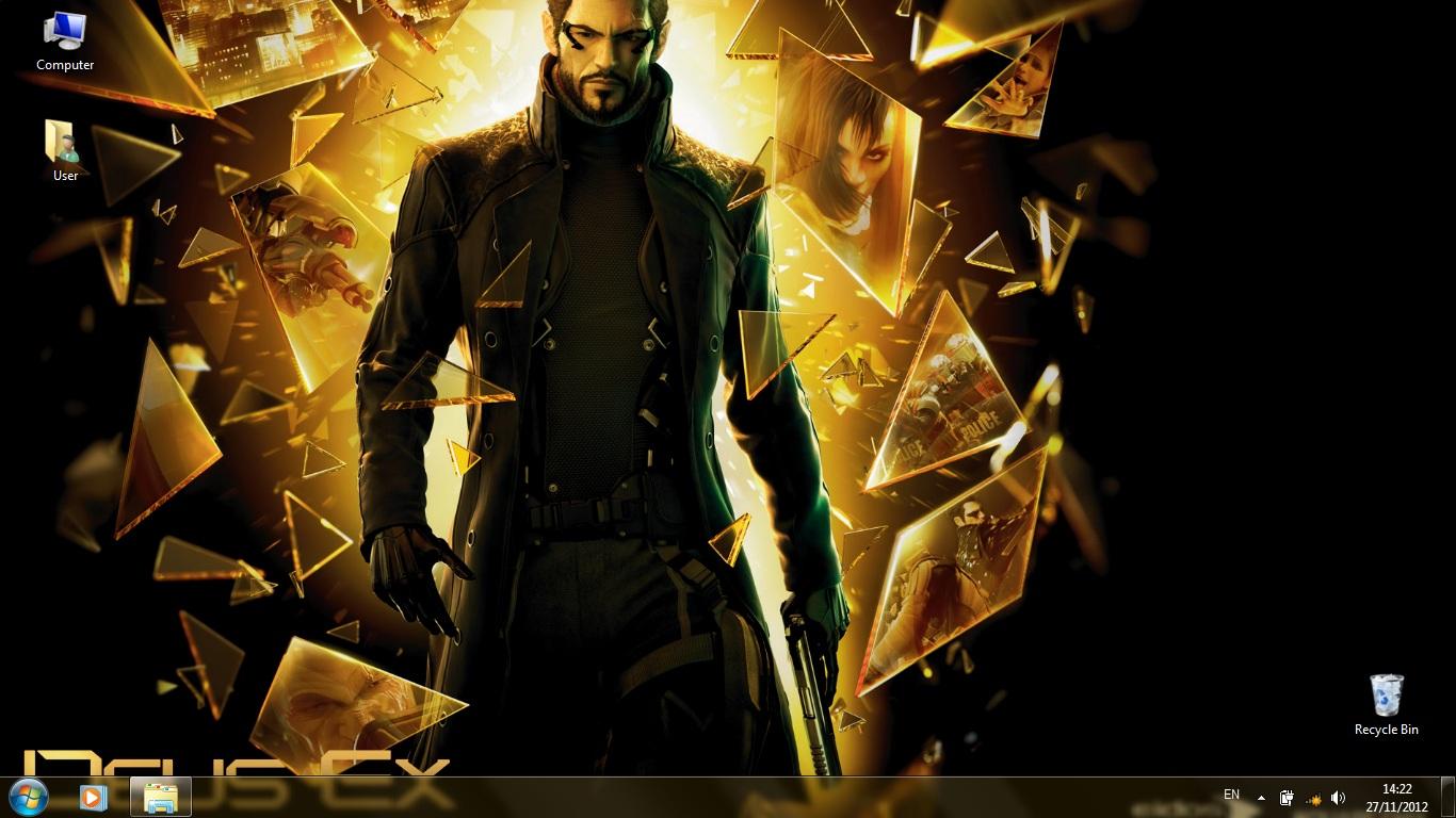 Тема Deus Ex Human Revolution