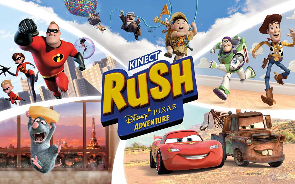Тема Kinect Rush: A Disney Pixar Adventure