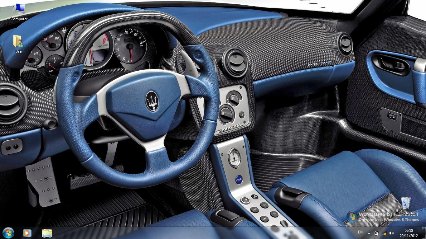 Тема Maserati MC12