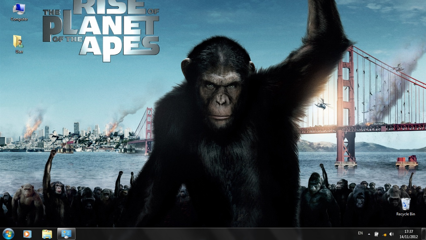 Тема Rise of the Planet of Apes