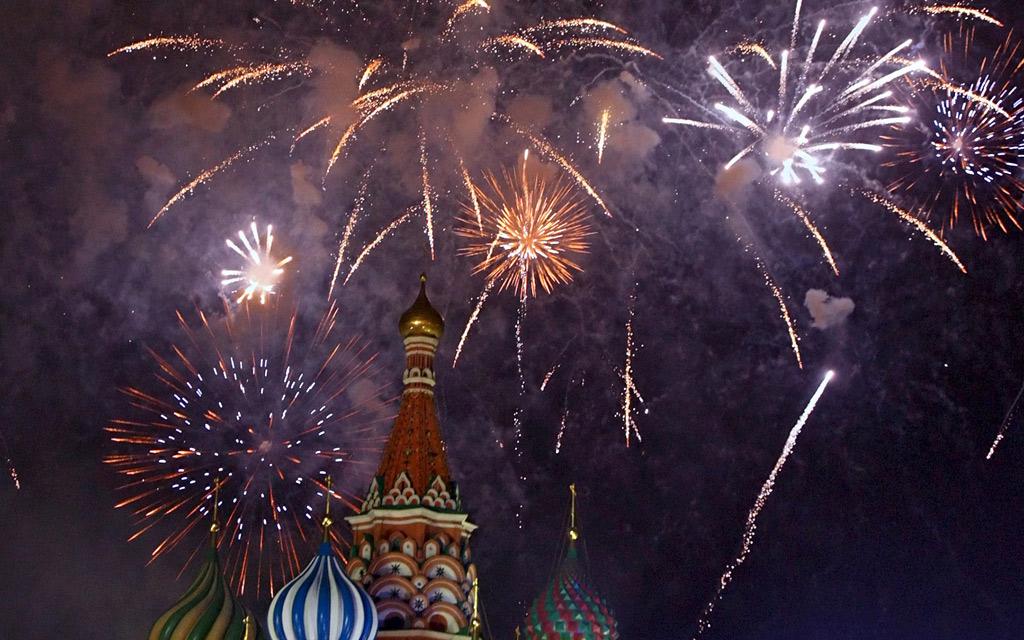 Тема Fireworks