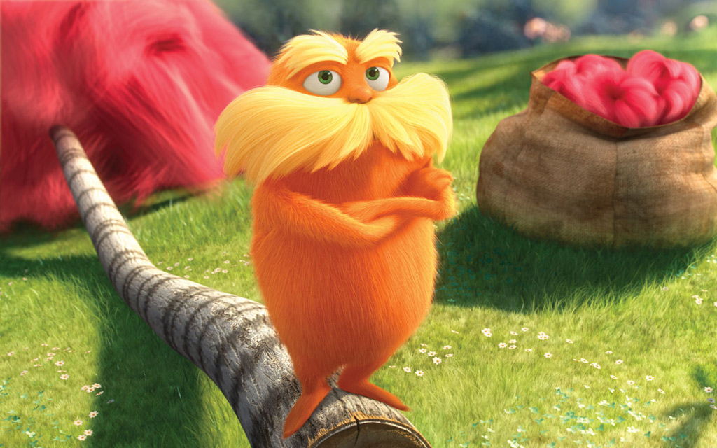 Тема Dr. Seuss' The Lorax