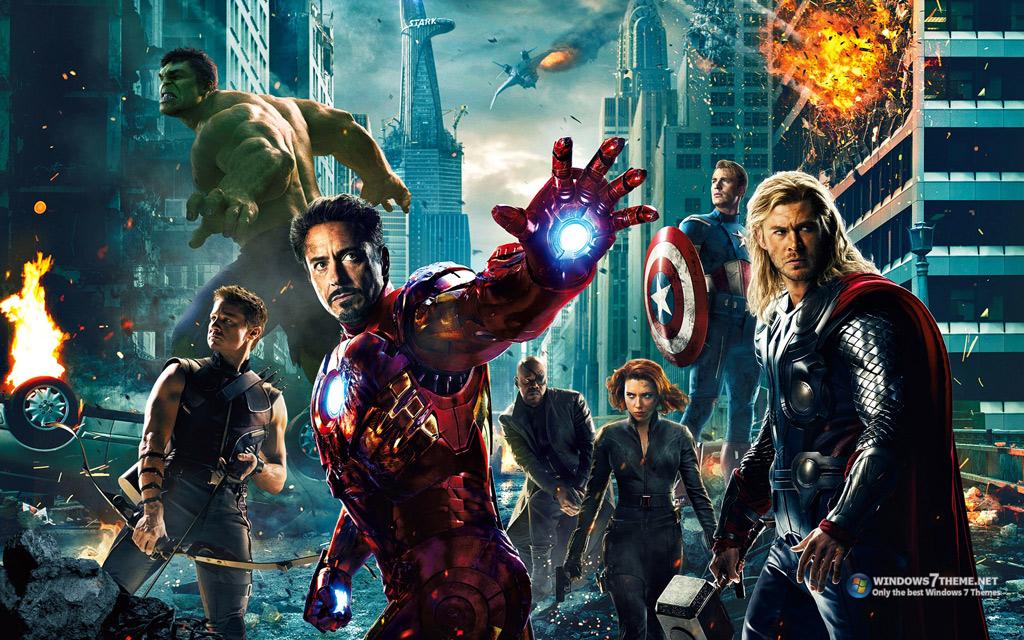 Тема The Avengers