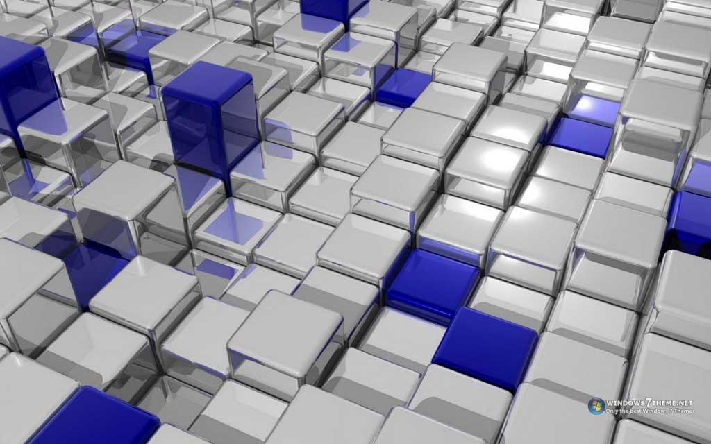 Тема 3D Cubes