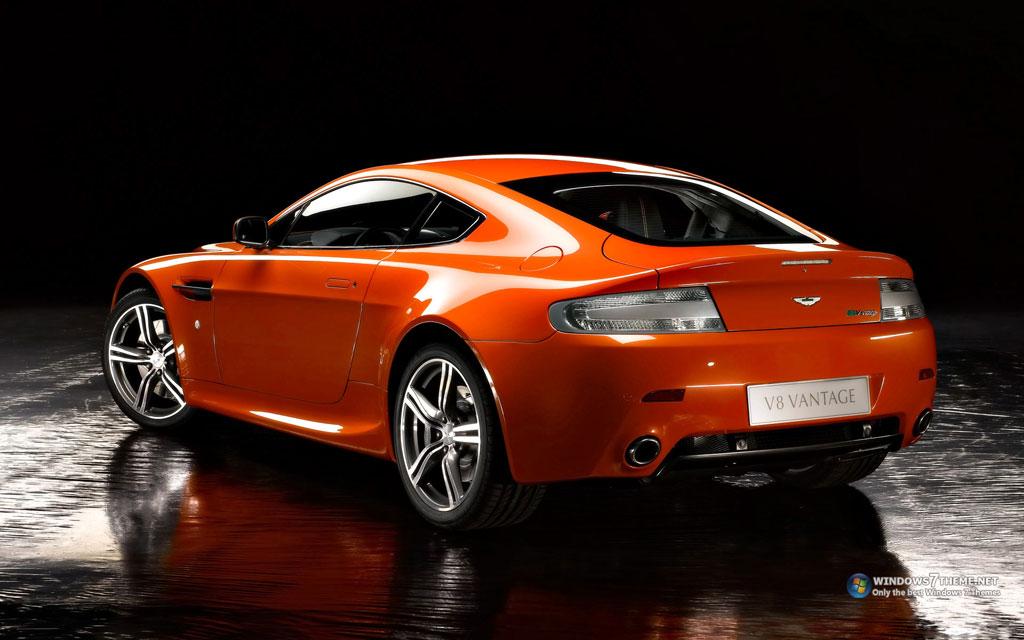 Тема Aston Martin V8 Vantage