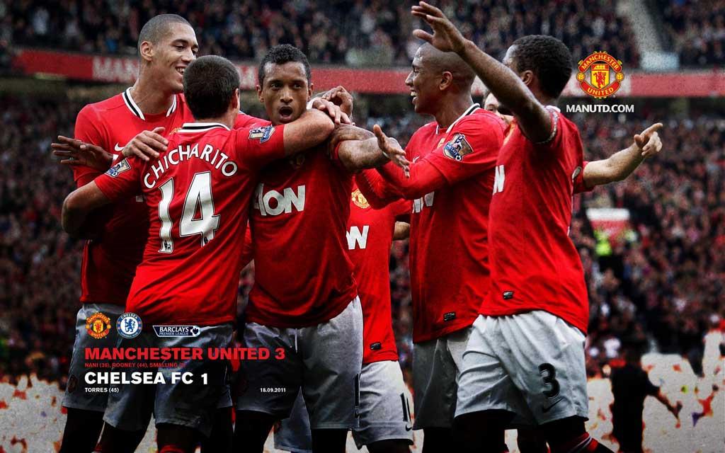 Тема Manchester united 2012