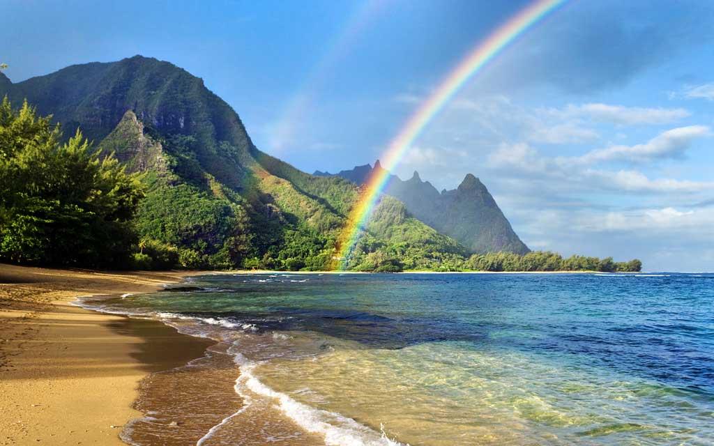 Тема Rainbows