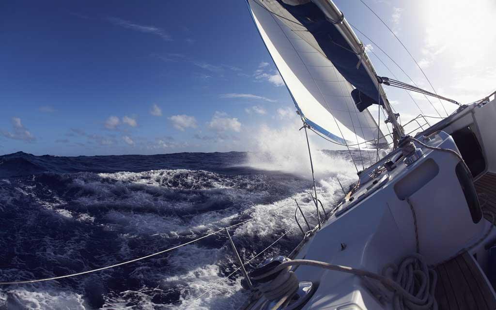 Тема Sailing