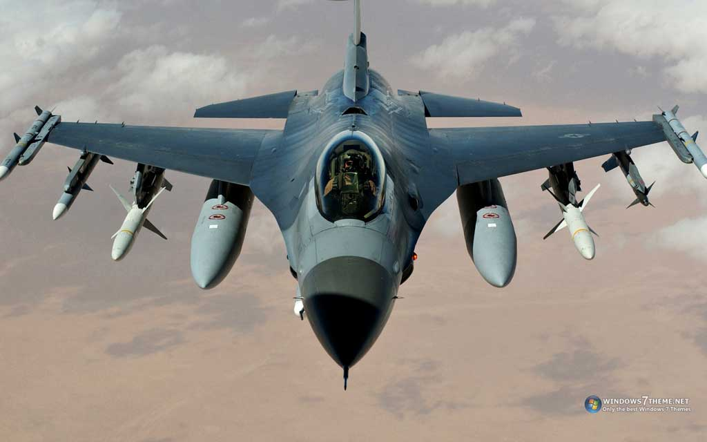 Тема F16 Jet Aircraft