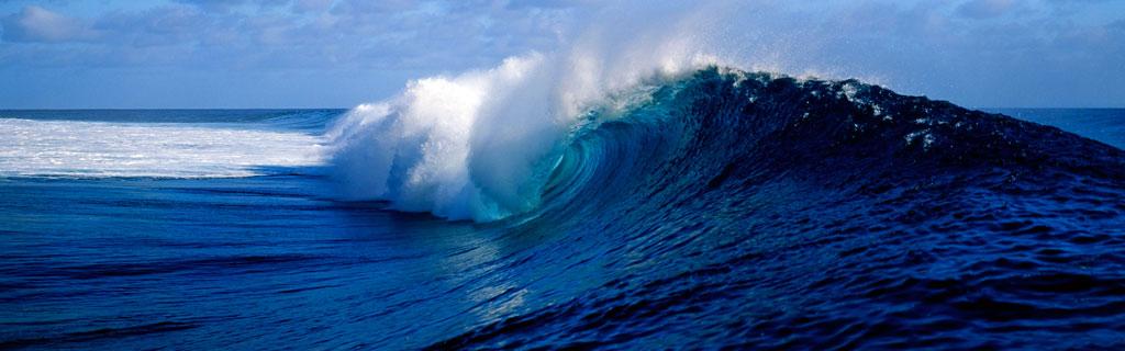 Панорамная тема Panoramic Waves для Windows8