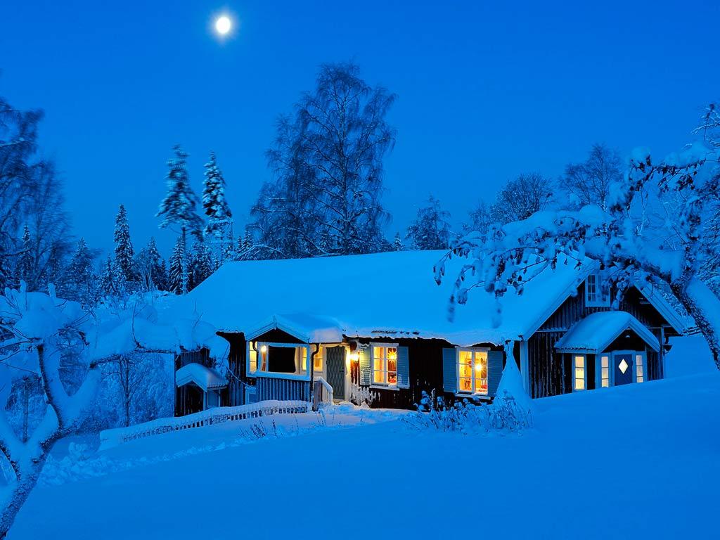 Тема оформления Snowy Night